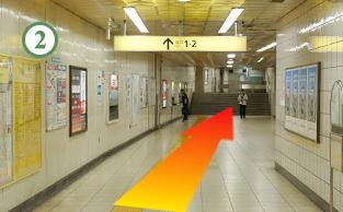赤坂駅からの道順2
