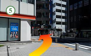 赤坂駅からの道順5