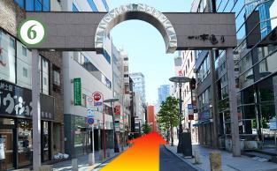 赤坂見附駅からの道順6